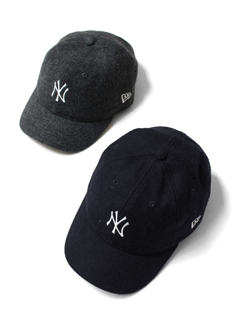 【40%OFF】NEW ERA 9TWENTY Short Visor New York Yankees Melton Mini Logo