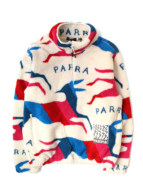 【40%OFF】by Parra jumping foxes sherpa fleece