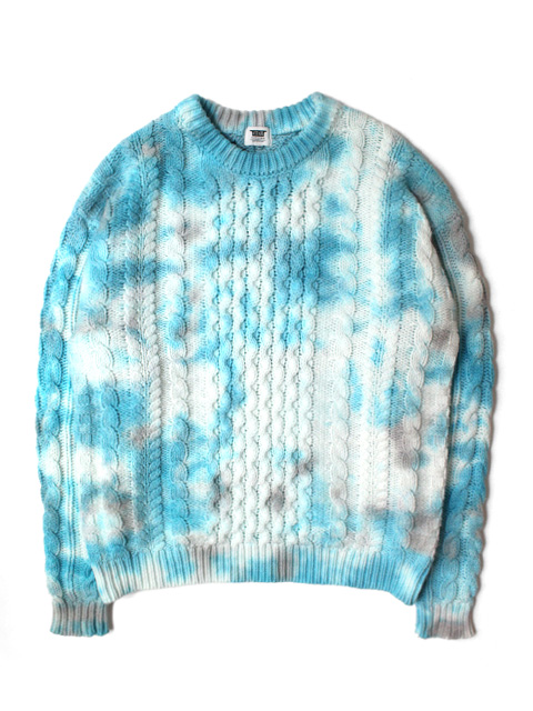 【50%OFF】RUTSUBO(坩堝) FISHERMAN TIEDYE SWEATER