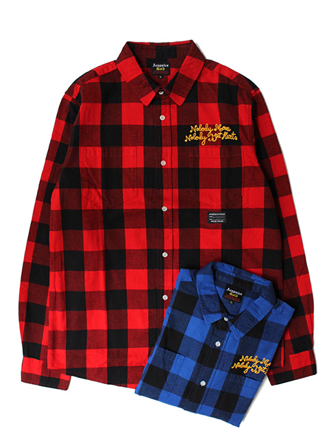 ACAPULCO GOLD CHECKER FLANNEL BUTTON DOWN