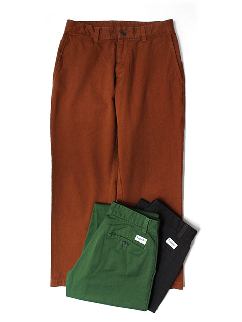SAYHELLO Daily Work Garment-Dye Chino Pants -Regular-Fit-