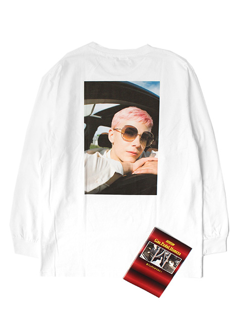 WHITEHOUSE3000 LONGSLEEVE Gas Pedal Honeys COLLECTION -BILLIE 2-