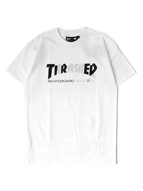 THRASHER x TIRED CAPSULE COLLECTION COVER LOGO TEE