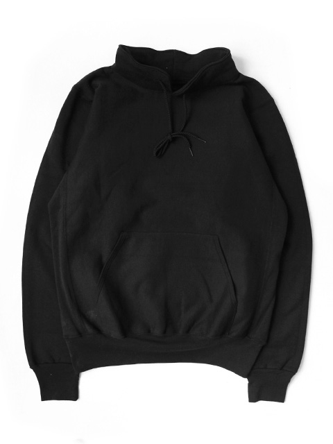 【Custom】LIFEWEAR Heavy Weight Cowl neck Sweatshirts -BLACK-
