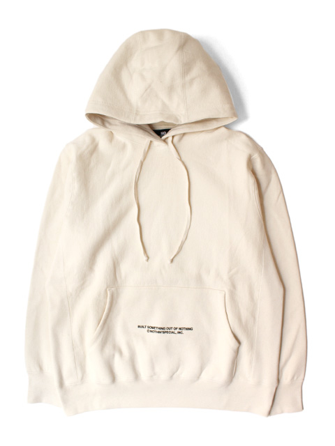NOTHIN'SPECIAL S/S '21 LOGO PULLOVER HOODIE