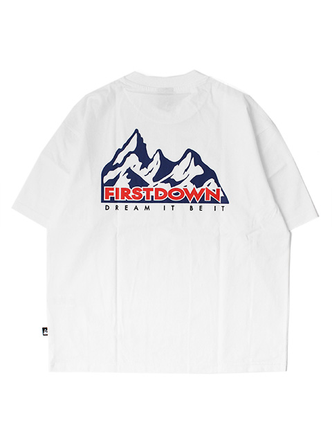 FIRST DOWN MOUNTAIN S/S T Designed by TOYA HORIUCHI