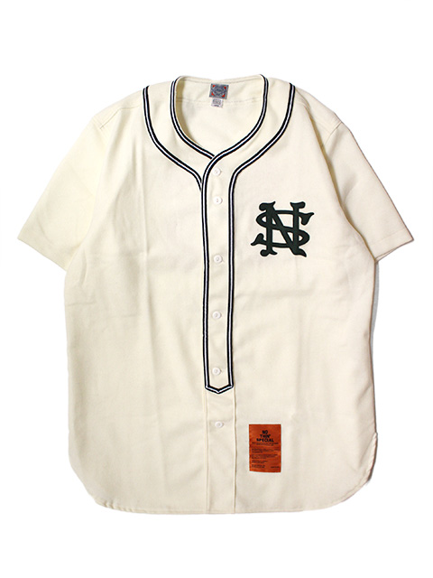 NOTHIN'SPECIAL x EBBETS FIELD PLAYER BASEBALL SHIRTS