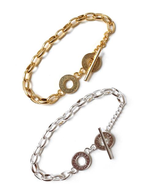 SEDAN ALL-PURPOSE Oval Link Chain Bracelet -Medium-