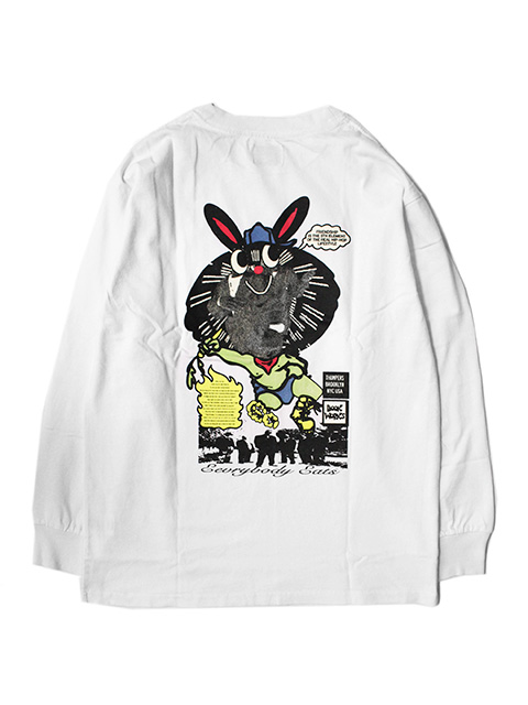 THUMPERS NYC x BOOK WORKS Everyone Eats L/S TEE