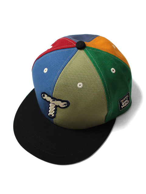 THUMPERS NYC x BOOK WORKS LOGO MULTI COLOR CAP