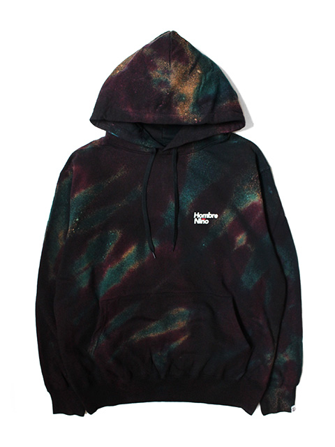 Hombre Nino TIE DYE HOODED PULL OVER by D.Y.E