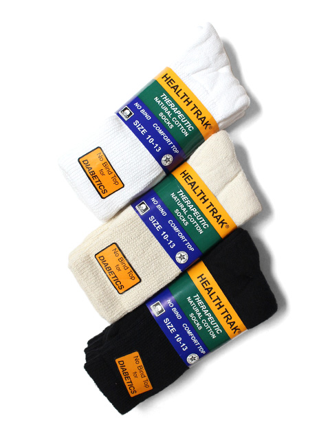 THE RAILROAD SOCK Diabetic Socks 2P -2足組-