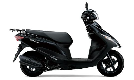 スズキ '20 アドレス125 フラットシート ブラック 新車