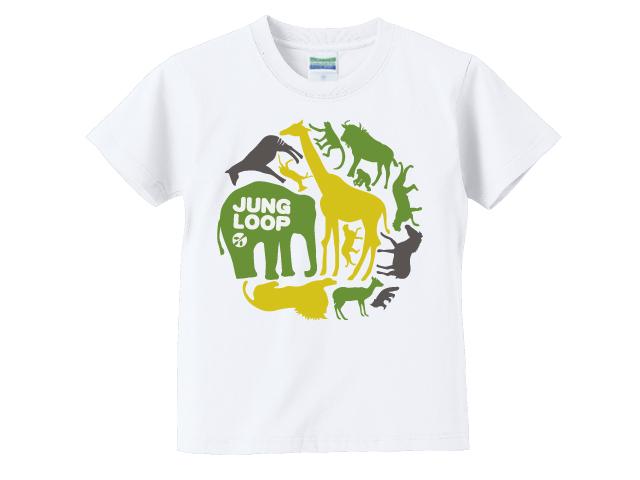 ジャングループ01/動物/キッズTシャツ