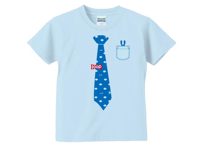 ネクタイキッズTシャツ