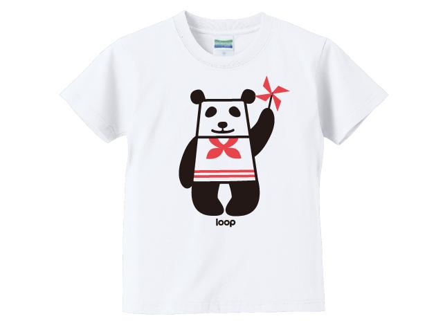 パンダキッズTシャツ