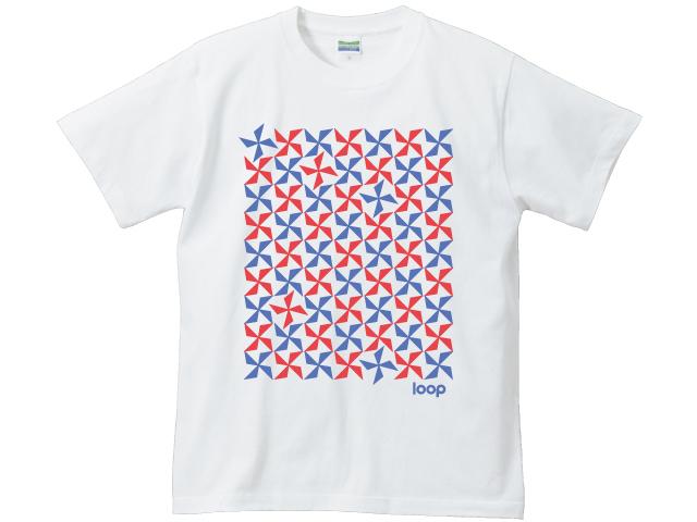 2色の風車Tシャツ