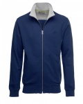 FULLZIP SWEAT SHIRT-dark blue