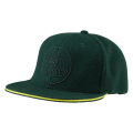 FLAT PEAK GREEN BASEBALL CAP