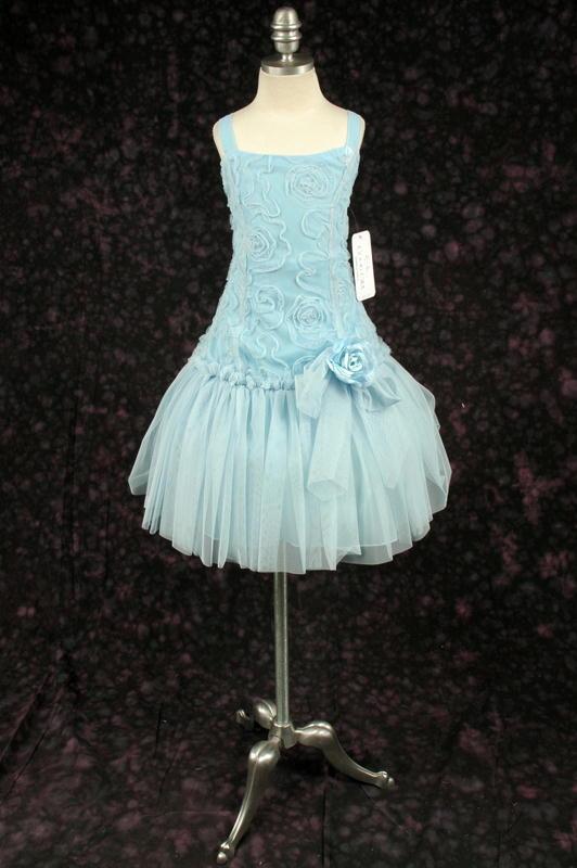 子供ドレス エリカ ブルー1