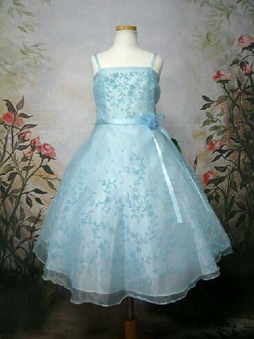 [完売品☆再入荷なし]子供ドレス セシル ブルー