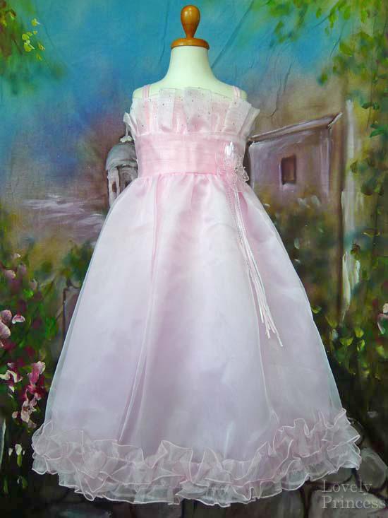 子供ドレス アニータ ピンク