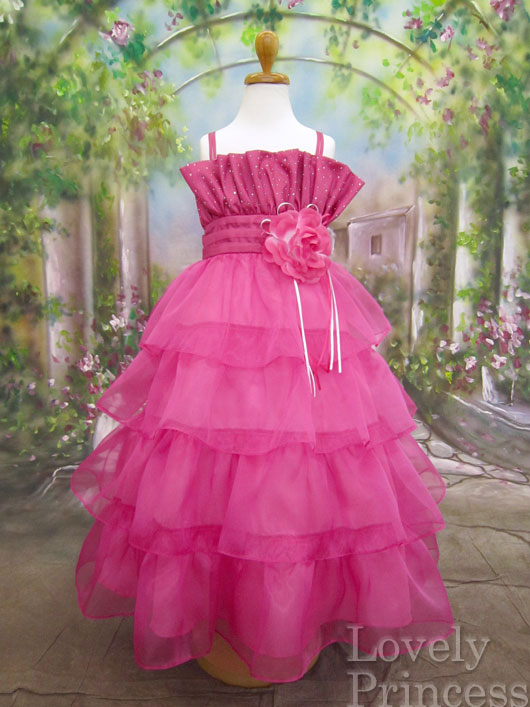 子供ドレス ドロシー フューシャ