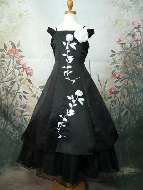 子供ドレス ベル ブラック