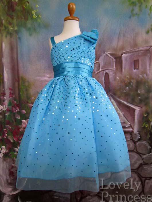 子供ドレス ゾーイ ブルー