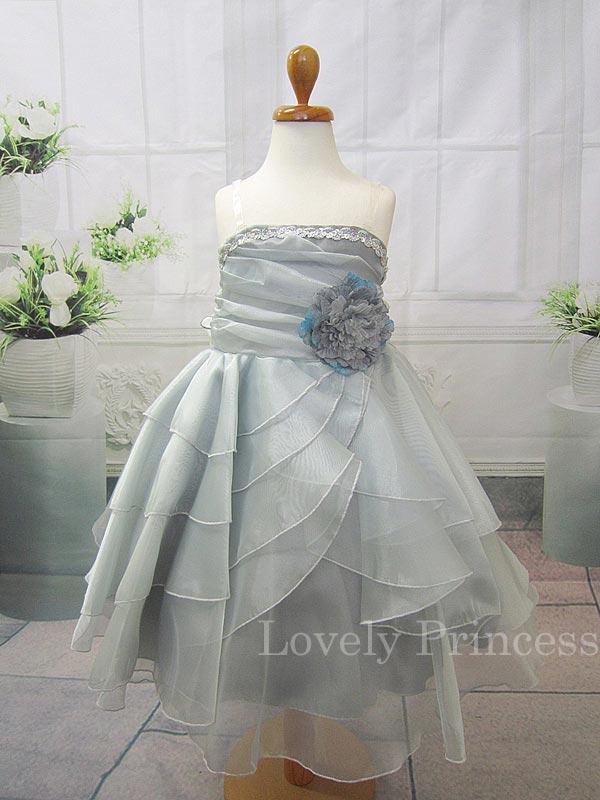 子供用ドレス メアリー シルバー