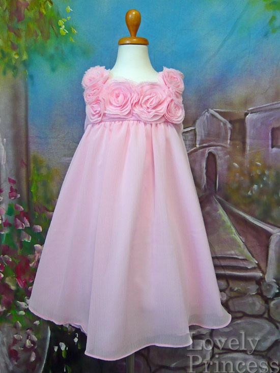 子供ドレス フローレンス ピンク