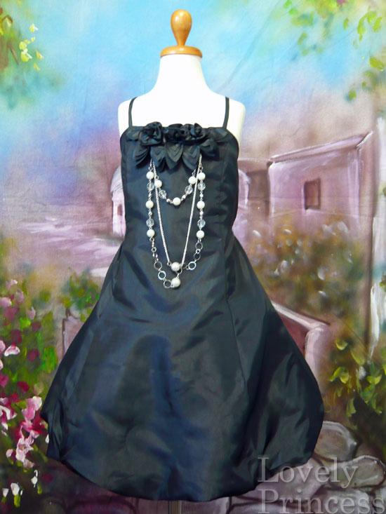 子供ドレス ベッキー ブラック