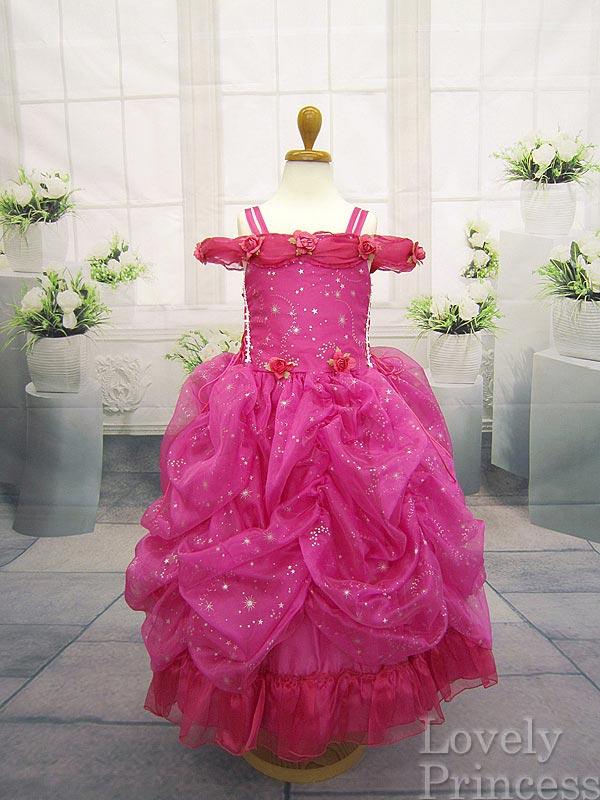 子どもドレス スターガール フューシャ