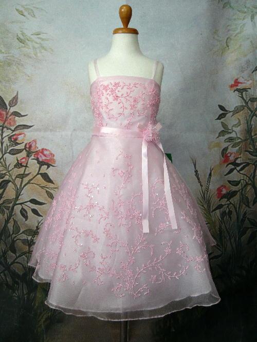 子供ドレス セシル ピンク