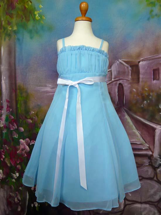 子供ドレス ドルチェ ブルー