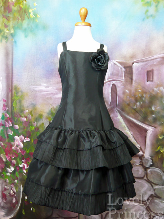 子供ドレス ノエル ブラック
