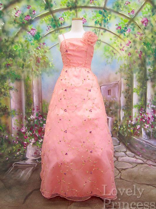 【アウトレット品】 レディースドレス*9147 / コーラル