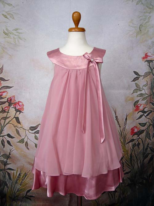 子供ドレス エリー ローズピンク
