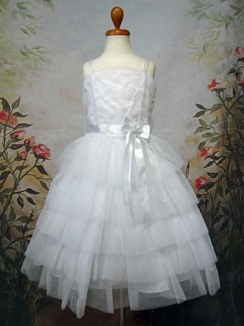 子供ドレス レスフィーナ ホワイト