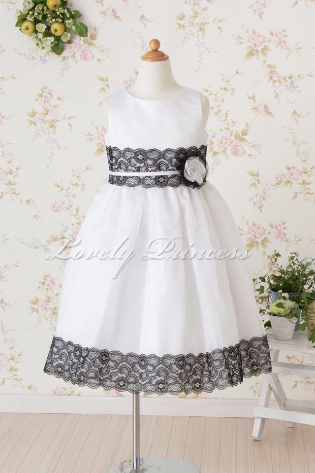 子供ドレス リンジー ホワイト
