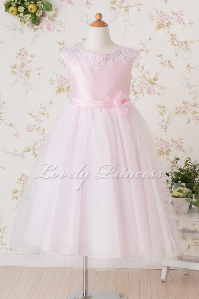 子供ドレス フェイス ピンク