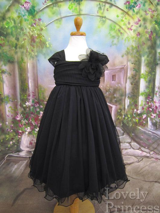 子供用ドレス ユニス ブラック