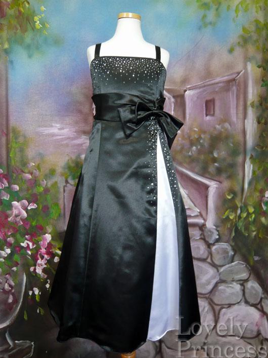 子供ドレス コメット ブラック