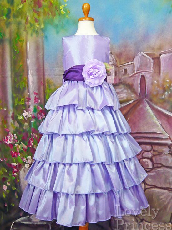 子供ドレス アナベル ライラック