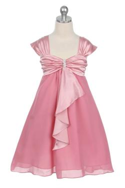 子供ドレス キャサリン ローズピンク