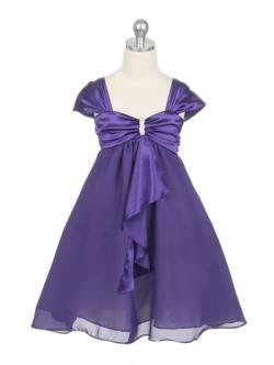 子供ドレス キャサリン パープル