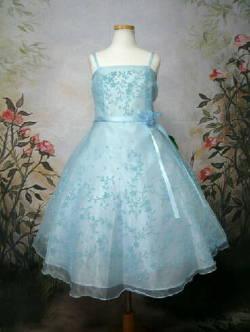 [完売品☆再入荷なし]結婚式子供ドレス セシル ブルー
