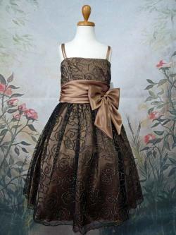 子供ドレス マーガレット ブラウン