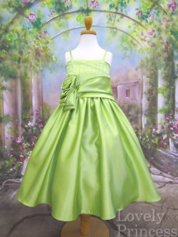 子供ドレス カサンドラ ライム