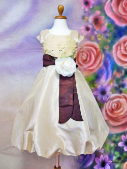 子供ドレス*CB2910 ゴールド